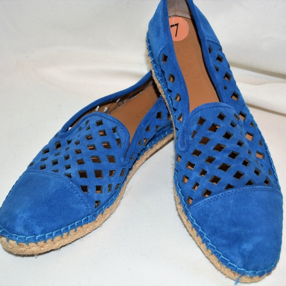 9bb1509048f3 Franco Sarto Shoes - EUC FRANCO SARTO COOL BLUE SUEDE SHOES!